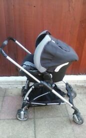 Streety bebe confort Push chair and Baby car seat £15