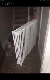 Cast iron radiator refub.