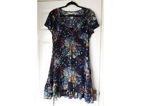 Jasper Conran - Floral Tea Dress - Size 14