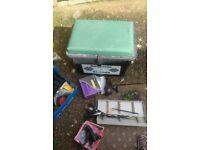 fishing box and equipmenr