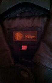 Ladies Leather Jacket - Size 16, Never worn.