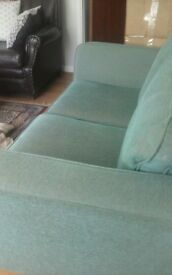 Two seater Marks and Spencer sofa