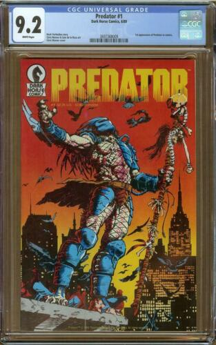 Predator #1 CGC 9.2 1st Appearance Predator