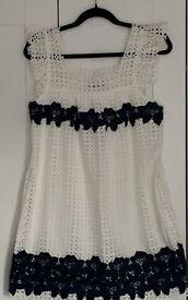 Zara lace dress size M brand new with tag