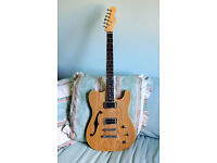 PRICE DROP ~ UPGRADED TELECASTER WITH HB-P90 PICKUPS ~ SUPER PLAYER!