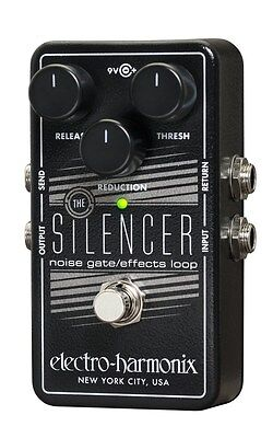 New Electro Harmonix Silencer Noise Gate   Effects Loop Guitar Pedal Ehx
