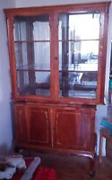 Really nice antique hutch, a few dings, but nice condition