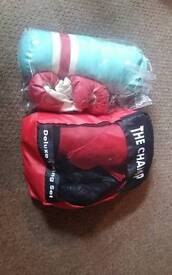 Two kids boxing sets