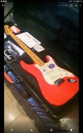 Fender American Deluxe Strat and Blackstar ID260 Amp