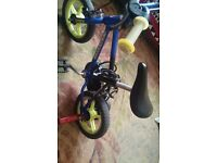 Small BMX Bike Suitable for 2 to 4 Years Age