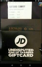JD Sports card £55 (save a tenner) Nike, Adidas, Football, Trainers