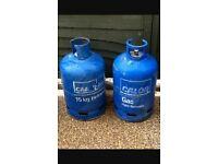 Calor gas 15kg blue gas bottle