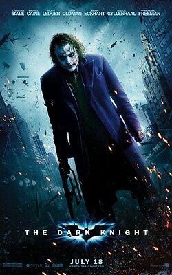 Batman Poster (The Dark Knight Movie Poster 8x10 11x17 16x20 24x36 27x40 Batman Joker Bale)