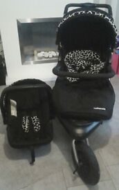 Mother care pram and fisher price chair