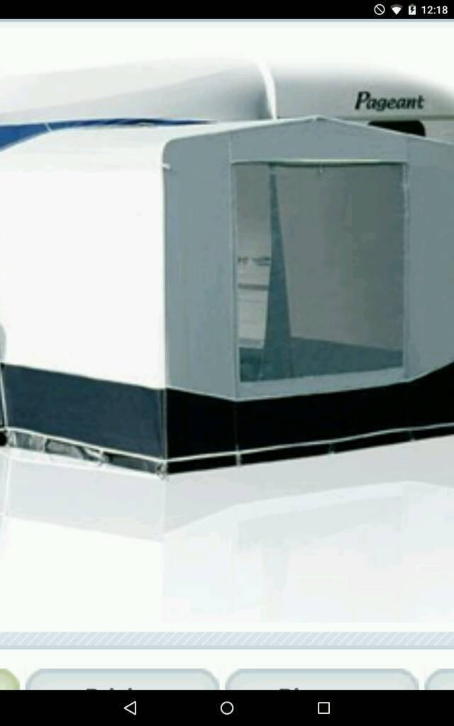 Caravan awning bedroom annexe 250 tall