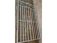 Tall Metal gate and hinges