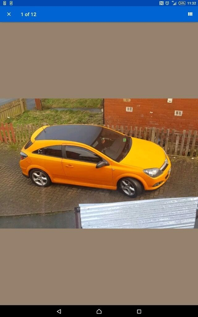 Vauxhall astra 1.9cdti 3dr sports hatch , matt orange wrapped , fsh , mot untill feb 2018 , swaps?