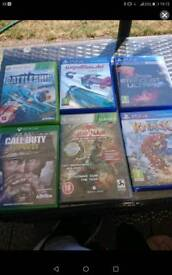 Xbox and Ps4 games
