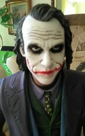 Joker figure, heath ledger. 18inches high.