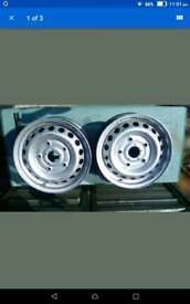 """Two Ford Transit 16"""" wheels"""