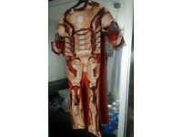 Genuine Marvel Iron Man dress up costume - Size 3 - 5 years