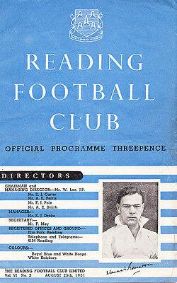 READING v BRISTOL CITY DIVISION 3 (SOUTH) 1951