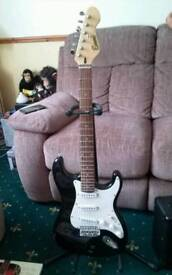 Guitar. And anp