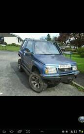 Vitara offroader cheap was £650 now £450 if sold today