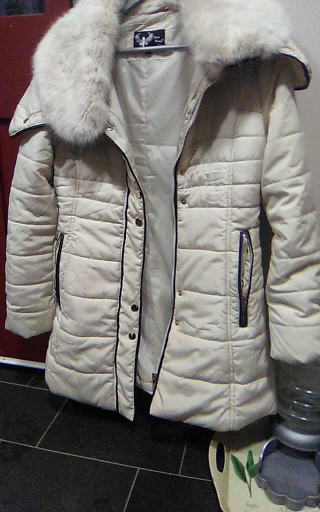 Winter jacket cream