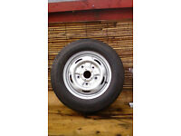 BRAND NEW TRANSIT TYRE AND WHEEL 195/70 R15 CONTINENTAL