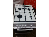 Swan gas cooker 50cm in white. new order