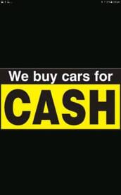 Scrap cars wanted and sell your used cars or van