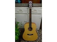 Grand Acoustic Guitar – Solid Spruce Top