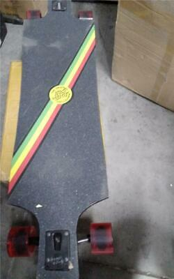 Santa Cruz Lion God Longboard Deck Complete 40 With Road Rid