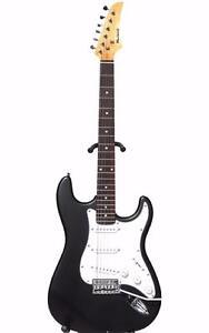 Electric Guitar for beginners with Tremolo Black iMEG272 Matt finish