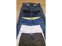 Bundle of mens trousers/chinos/Jeans