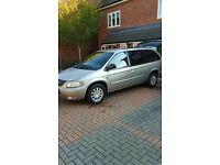 2003 CHRYSLER GRAND VOYAGER 2.5 DIESEL MANUAL 7 SEATER WITH DVD PLAYER