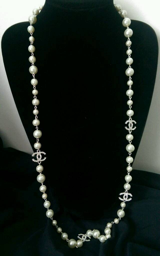 Chanel Pearl Necklace In Tiverton Devon Gumtree