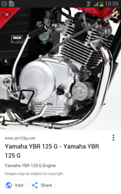 125cc yamaha engine 2015 fully working fits most 125s breaking geared 125 not scooter