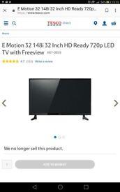 "Emotion 32"" led 720p TV with bush sound bar"