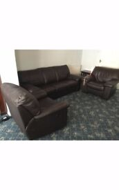Sofa with matching arms chairs from Basildon