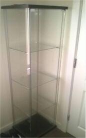 3 SHELF GLASS DISPALY CABINET