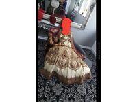 Amazing asian wedding lengha