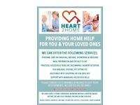 Heart2home offering care and support in your own home