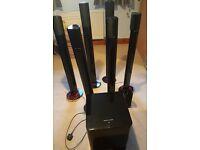 7.1 Surround Speaker System- Harman Kardon HKTS 7 plus 2 HK Sats11 plus HFTS 2