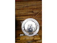 """CHROME EFFECT WHEEL TRIMS 15"""" BRAND NEW BOUGHT FOR FORD TRANSIT"""