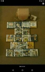 DS Games bundle & carry bag