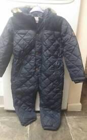 junior j full body padded snowsuit for sale (4-5)