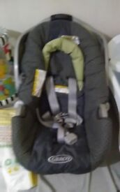 GRACO CAR SEAT USED ONCE