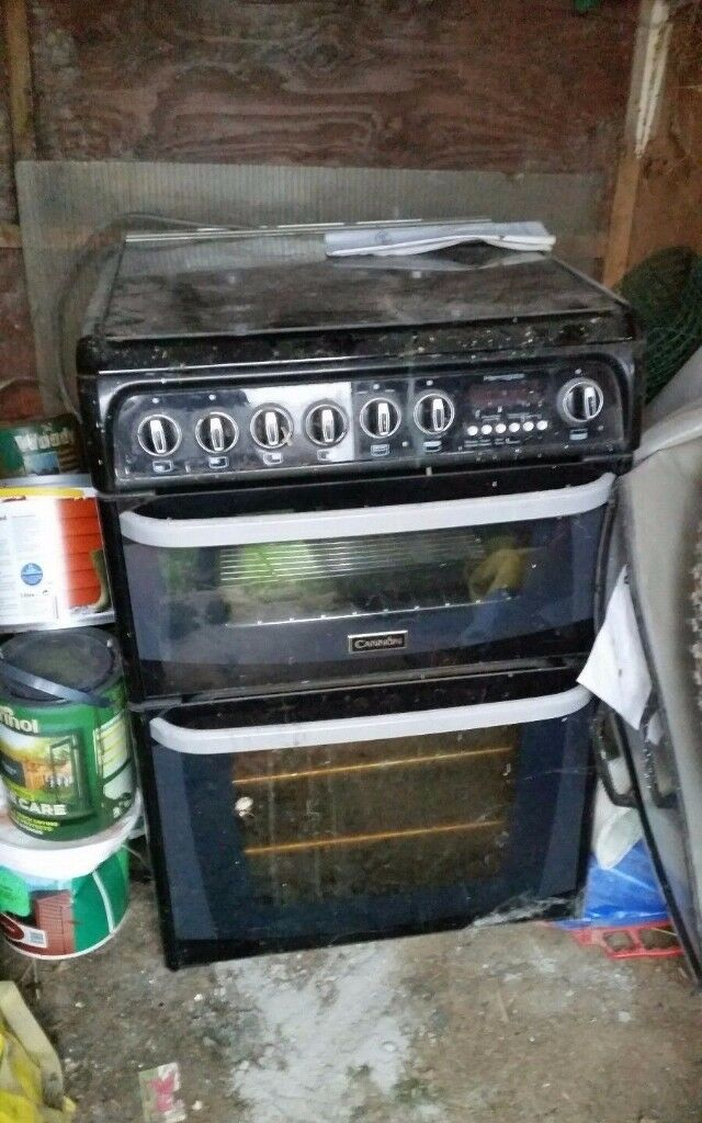 G755 Canon Belling Cooker Dual Fuel Gas Electric